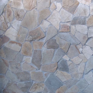 quartzite mixed building stone autumn